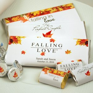 Personalized Autumn Hershey's Chocolate Bars image