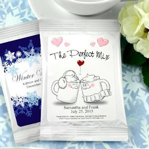 Personalized Wedding Cocoa Favors (Many Designs) image