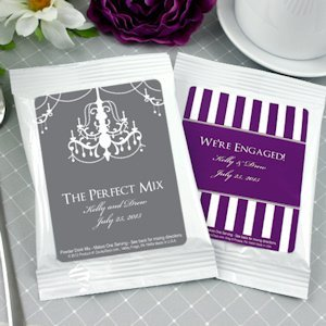 Personalized Silhouettes Cappuccino Mix Favors image