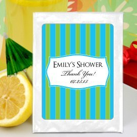 Personalized Bridal Shower Lemonade Favors (Many Designs) image