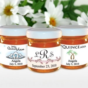 Personalized Honey Quinceaneras Favors (Many Designs) image