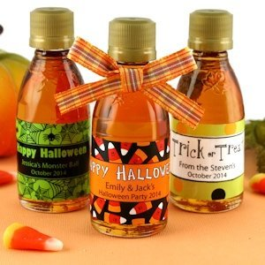 Halloween Maple Syrup Favors image