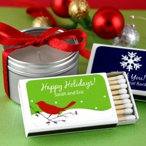 Personalized Holiday Matchboxes image