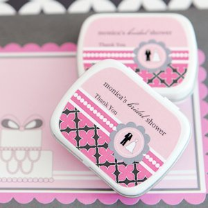 Customized Bridal Shower Favors - Candy or Mint Tins image