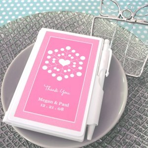 Snowy Notes Notebook Favors image