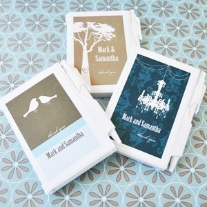 Notebook Personalized Wedding Favors - Elite Designs image