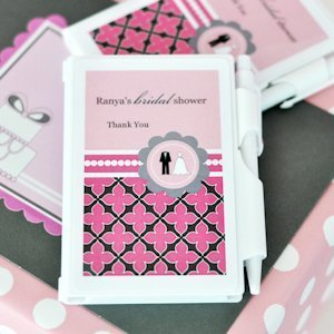 Wedding Shower Personalized Notebook Favor image