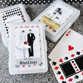 Elite Design Personalized Theme Playing Card Favors image