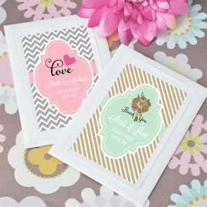 Seeds of Love Personalized Flower Seed Wedding Favors image