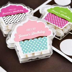 Personalized Cupcake Design Favor Boxes image