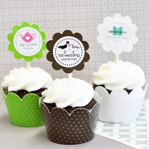 Theme Cupcake Wrappers & Cupcake Toppers (Set of 24) image