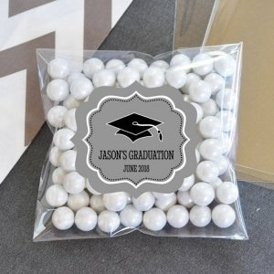 Personalized Graduation Candy Bags (Set of 24) image