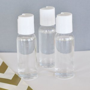 DIY Blank Hand Sanitizer Favors image