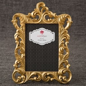 Gold Metallic Baroque Frame 5x7 From Gifts By Fashioncraft image