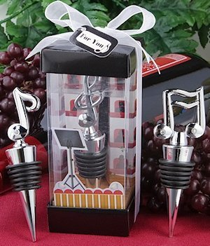 Musical Note Wine Stopper Party Favors image