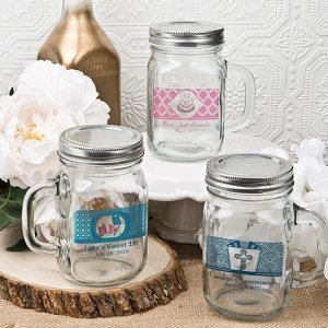 Mason Drinking Jar Personalized Party Favors image