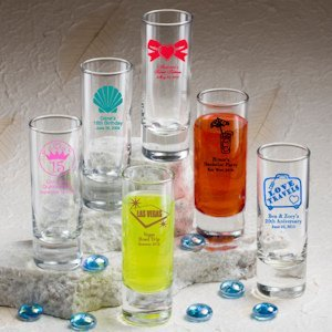Personalized Sweet 15 Party Favor Shooter Glasses image