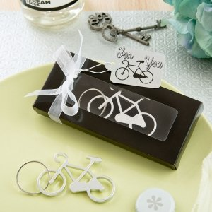 Bicycle Design Key Chain Bottle Opener image