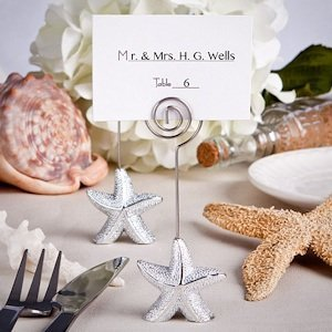 Shimmering Starfish Place Card Holders image