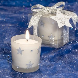 Sparkling Star Light Candle Favors image