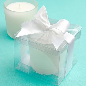 Perfectly Plain Collection Candle Favors image