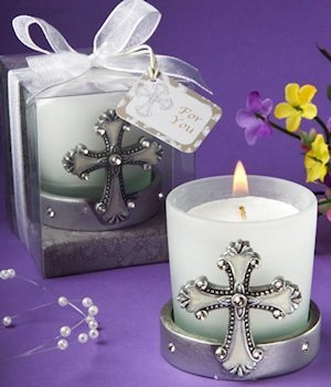 Cross Themed Candle Holders image