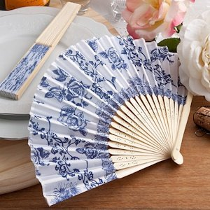 Elegant French Country Design Fan Favors image