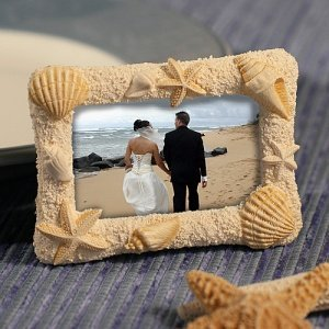 Sand & Shell Photo or Placecard Frame image