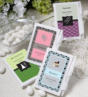 Personalized Notebook Favors (Over 200 Designs) image