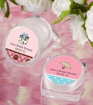 Lip Balm Personalized Bridal Shower Favors image