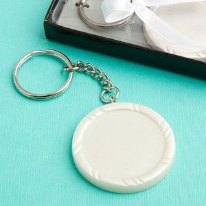 Perfectly Plain Collection Key Ring Favors image