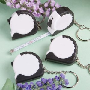 Perfectly Plain Collection Key Chain/Measuring Tape Favors image