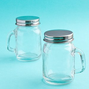 Perfectly Plain Collection Glass Mason Jars image