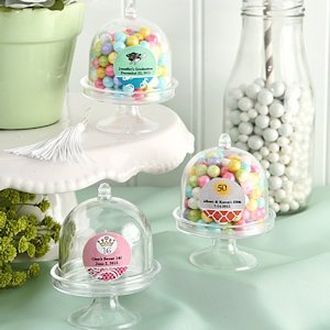 Personalized Cake Stand Box Party Favors image