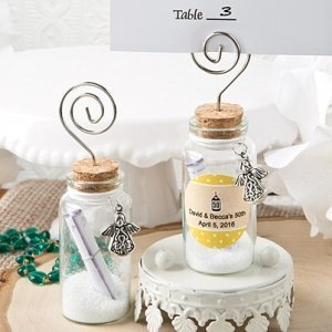 Personalized Guardian Angel Wishing Jar Party Favors image