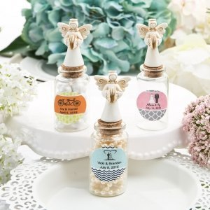 Guardian Angel Personalized Candy Jar Favors image