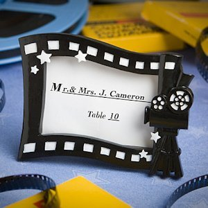 Hollywood Movie Themed Place Card Frames image