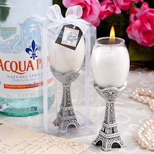 Tres Chic Eiffel Tower Candle Holders image