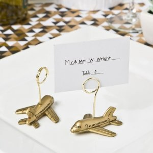 Airplane Design Placecard Holders image