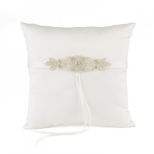 Classically Chic Ring Pillow image