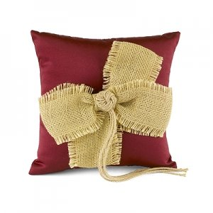 Country Love Ring Pillow image