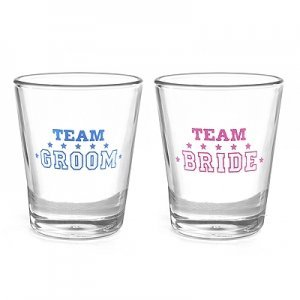 Team Bride or Team Groom Party Shot Glass image