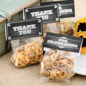 Chalkboard Style Treat Toppers (Set of 25) image