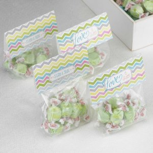 Chevron Treat Toppers (Set of 25) image
