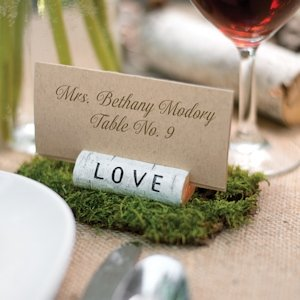 Rustic Love Place Card Holders (Set of 6) image