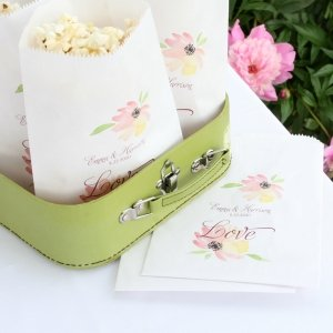 Floral Forever Treat Bags (Set of 50) image