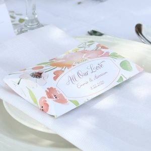 Floral Forever Personalized Favor Boxes (Set of 50) image
