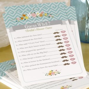 Guess Who Newlywed Bridal Shower Game image