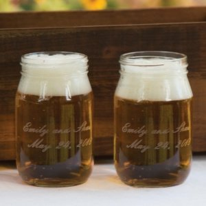 Custom Mason Drinking Jar Set image