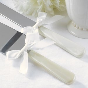 Ivory Pearl Handle Serving Set image